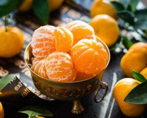 mandarins, fruit, citrus