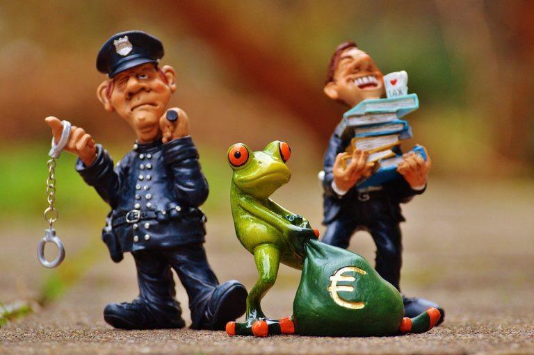 taxes, tax evasion, police