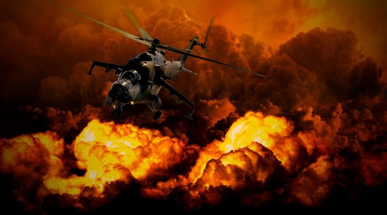 war, helicopter, military