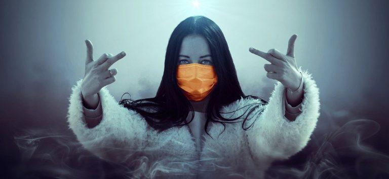 mask, mouth guard, girl
