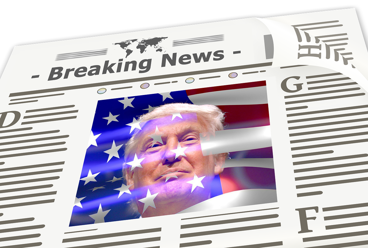 newspaper, news, trump